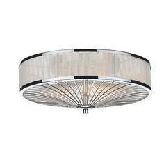 Dar Lighting Oslo 3 Light Flush Ceiling Light & Reviews   Wayfair UK
