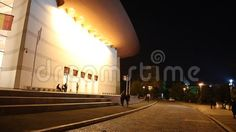 National Theatre Ion Luca Caragiale in Bucharest, Romania night. Bucharest Romania, National Theatre, Royalty Free Stock Photos, Scene, Culture, Architecture, Night, Arquitetura, Architecture Design