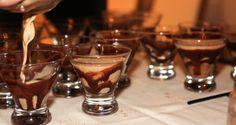 Chocolate Cocktail at Spa Party at 2016 Oregon Chocolate Festival www.oregonchocolatefestival.com