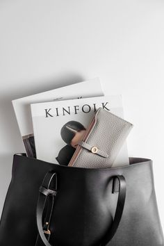 A simple black tote is ready for any occasion. Black Tote, Pu Leather, Tote Bag, Simple, Bags, Handbags, Carry Bag, Taschen, Tote Bags