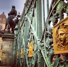 Royal Palace gates #Torino, foto di Luciano Bardone