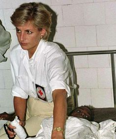 Princess Diana in Angola, 1997