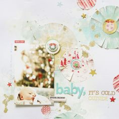 Baby it is cold outside by Anna Maria Wolniak