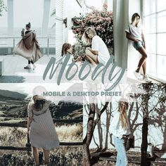 Buy Moody Lightroom Mobile and Desktop Presets by LukStudioDesign on GraphicRiver. I present to You a set of presets Moody Lightroom Mobile and Desktop Presets My settings will completely change your . Lightroom Presets For Portraits, Professional Lightroom Presets, Instagram Mobile, My Settings, Edit Your Photos, Outdoor Portraits, Indoor Outdoor, Cool Photos, Desktop