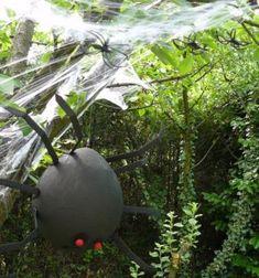 Araignée géante pour une décoration Halloween - Trucs et Deco
