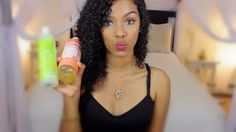 curly hair products sunkiss alba - YouTube