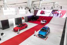 Das Audi City Lab Berlin Pos Design, Booth Design, Audi, Porsche, Berlin, Exhibition Display, Exhibit Design, Exhibitions, Lab