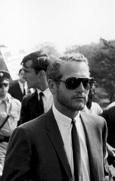 Paul Newman at the March on Washington, 1963.