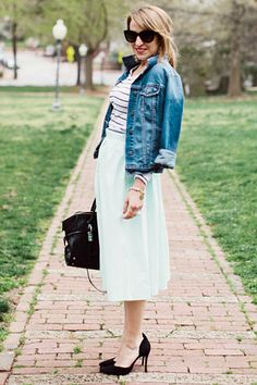 6 So-Chic Ways To Style Your Striped Top This Summer—Try 'Em All!  #refinery29
