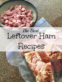 Here is the best leftover ham recipe you will ever make and your kids will absolutely love! Use your ham leftovers after the holidays to make these crescent roll ham turnovers or rollup that a great lunch or dinner idea. Recipes Using Ham, Leftover Ham Recipes, Leftovers Recipes, Pork Recipes, Dinner Recipes, Cooking Recipes, Leftover Turkey, Dinner Ideas, Recipies