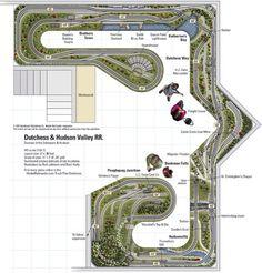 Dutchess & Hudson Valley RR- from Track Plan Database | ModelRailroader.com