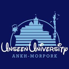 Unseen University Castle - Discworld