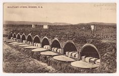 Military Bread Ovens Camp Sussex N B Antique Private Postcard | eBay