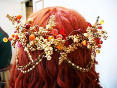 Goblin Headdress #howto #tutorial => Interessante Idee fürs Larp