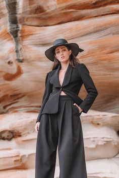 The MBM Marlo Jacket is that classic, transeasonal blazer you need that will never go out of style. Out Of Style, Girl Boss, Blazer Jacket, Snug, Going Out, Stylish, Coat, Model, Blazers