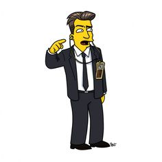 15 Twin Peaks Characters As If They Appeared On The Simpsons Inside The Black Lodge