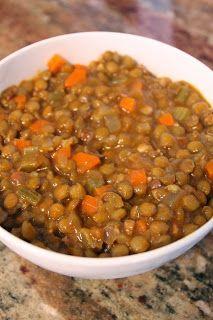 Grandma's Lentil Soup Recipe. Fast, Easy, Delicious!