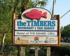 Timbers Restaurant and Fish Market on Sanibel Island - our favorite bar