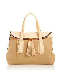 Girl About Town Canvas Satchel #offdutystyle #henribendel