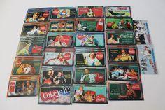 "Lot of 56 Super Premium and Premium ""Sign of Good Taste"" Coca Cola Collector Cards Including 2 Polar Bear Cards! - $18.99"