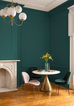 PPG Paint's 2019 Color of the Year is Night Watch | Apartment Therapy