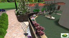 Progettazione di un giardino residenza privata