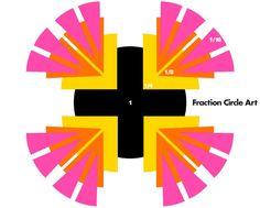 Math Activity: Fraction Circle Art #weareteachers