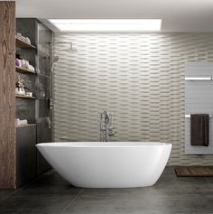 Banheira Moderna Mozzano Doka Bath Works - Obravip $14 mil