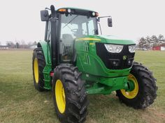125 engine hp John Deere 6125M