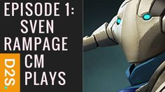 Dota 2 Selections Episode 1: Sven Rampage & Crystal Maiden Plays