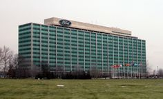 Ford Motor Company World Headquarters in Dearborn, Michigan.  I actually miss being a part of this company.