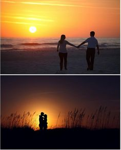 beachh... most romantic place ever.. best place to take couples pictures i do believe  (: