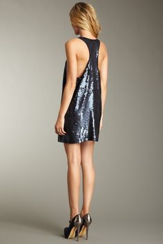 Elizabeth and James Sequin Singlet Dress