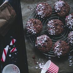 Candy Cane Dipped Chocolate Cookies