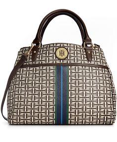 Tommy Hilfiger Handbag, Coated Classics Convertible Shopper - Handbags & Accessories - Macy's
