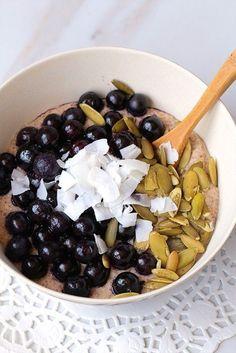 blueberry porridge 2