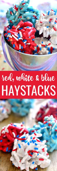 These Red, White Easy No Bake Desserts, Best Dessert Recipes, Desert Recipes, Easy Desserts, Holiday Recipes, Delicious Desserts, Amazing Recipes, Vegan Recipes, Dinner Recipes