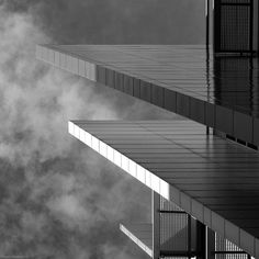 Platforms by Robert Melotte Study Architecture, Architecture Details, White Light, Black And White, Abstract City, Eero Saarinen, Poker Chips, Platforms, Cool Photos
