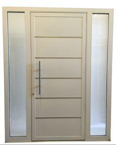 Modern Entry Door, Entry Doors, Dresser, Furniture, Home Decor, Powder Room, Decoration Home, Entry Gates, Room Decor