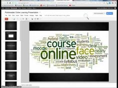 Embed a Google Presentation Moodle 2.2.mp4