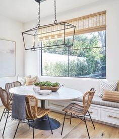 Designer creates this inspiring dining nook featuring our Sydney Chairs! Designer creates this inspiring dining nook featuring our Sydney Chairs! Decor, Dining Nook, Interior, Dining Room Small, Home, Dining, Dining Room Design, House Interior, Dining Room Decor