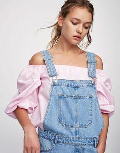 :Salopette jean