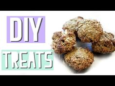 How To Make Homemade Rabbit Treats (Without Oats) - YouTube