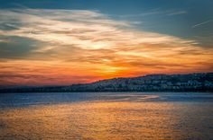 Sunset over the Riviera | Nice | French south coast
