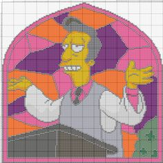 The Simpson's Graphgan Pattern