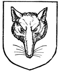 Fig. 345.—A fox's mask. Date 	1909 Source 	A Complete Guide to Heraldry. Author 	 [show]Arthur Charles Fox-Davies oktouse