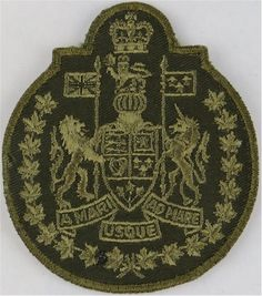 Canadian Forces Chief Warrant Officer Green On Olive Warrant Officer rank badge for sale Queen Elizabeth Crown, Queen Crown, Warrant Officer, Royal Marines, Royal Air Force, Armed Forces, Badges, Army, Canada