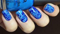 Nail Polish Wars: Feelin' Blue