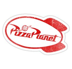 """Pizza Planet"" Stickers by Wizz Kid 