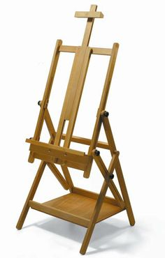 CS-50 Tiziano Multi-function easel - oiled beech  #Handmade in Italy  Cappelletto Easels